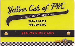 Senior Ride Card